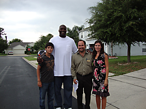 Home Shopping with Shaquille O'Neal in Lake Mary