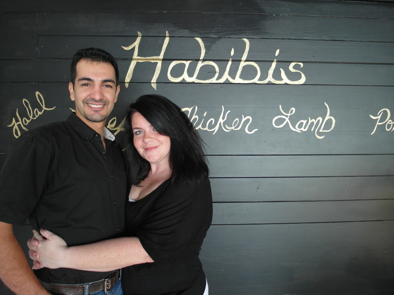 Habibi's owners Courtney Haton and Mo Abed in their Sanford FL grocery store